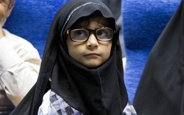 نامه دختر ۷ساله شهید مدافع حرم برای سردار سلیمانی