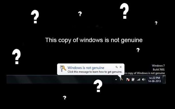 چگونه ارور genuine را در ویندوز 7 حذف کنیم ؟