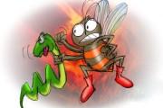 حکایت «نیش مار و زنبور»