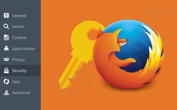 حذف یوزرنیم و پسورد ذخیره شده در مرورگر موزیلا فایرفاکس